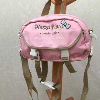 mezzo piano - メゾピアノ  ウエストポーチ、ショルダー、手持ちバッグ