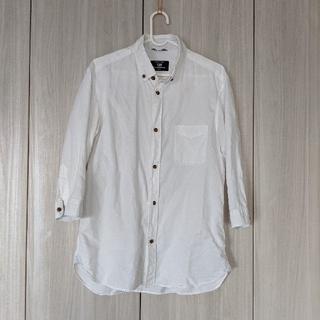 コムサコミューン(COMME CA COMMUNE)のCOMME CA COMMUNE 七分袖シャツ LARGE(シャツ)