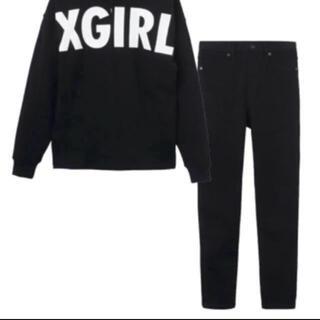 エックスガール(X-girl)の新品未使用 エックスガール レギンスのみ(レギンス/スパッツ)