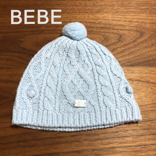 ベベ(BeBe)のBEBE reduction ニット帽 ニットキャップ(帽子)