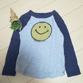 ニードルワークスーン(NEEDLE WORK SOON)のニードルワークスーン にこちゃんプリント Tシャツ 140cm 子供服(Tシャツ/カットソー)