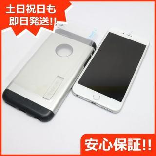 アイフォーン(iPhone)の超美品 SIMフリー iPhone6 PLUS 128GB シルバー (スマートフォン本体)