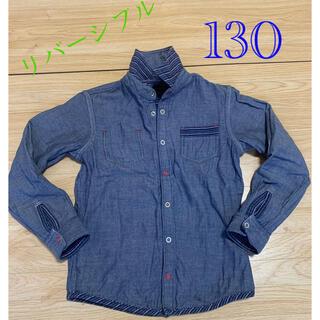 カステルバジャック(CASTELBAJAC)の美品 CASTELBAJAC リバーシブルシャツ サイズ130(Tシャツ/カットソー)