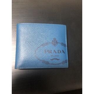 プラダ(PRADA)の【中古】プラダ 2つ折り財布 (折り財布)