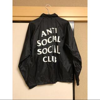 アンチ(ANTI)のanti social social club(ナイロンジャケット)
