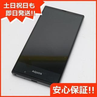 シャープ(SHARP)の新品同様 au SHV31 AQUOS SERIE mini ブラック (スマートフォン本体)