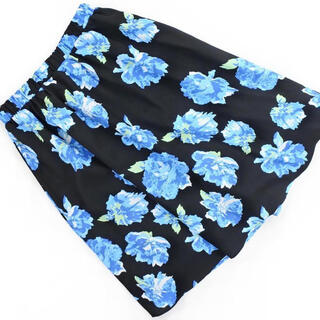 セシルマクビー(CECIL McBEE)のCECIL Mc BEE / 花柄スカート(ひざ丈スカート)