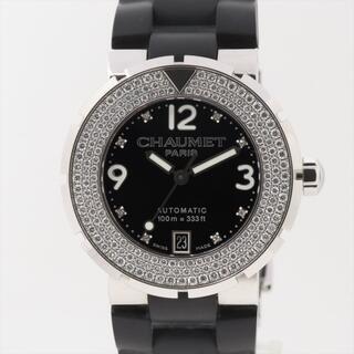 ショーメ(CHAUMET)のショーメ クラスワン SS×ラバー   メンズ 腕時計(腕時計(アナログ))