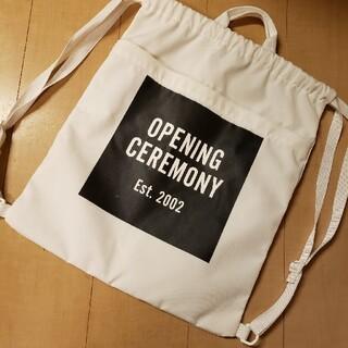 オープニングセレモニー(OPENING CEREMONY)のオープニングセレモニー ロゴバック(トートバッグ)