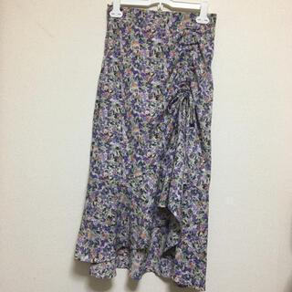 ディーホリック(dholic)の花柄 韓国 スカート(ロングスカート)