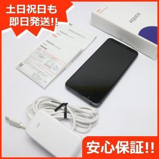 アクオス(AQUOS)の美品 SHV45 ブラック スマホ 白ロム(スマートフォン本体)