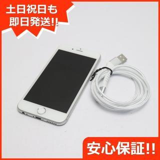 アイフォーン(iPhone)の良品中古 SIMフリー iPhone6S 32GB シルバー (スマートフォン本体)