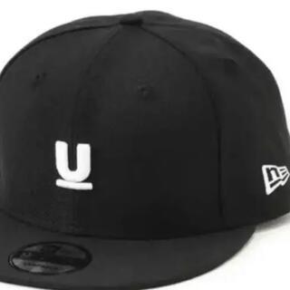 アンダーカバー(UNDERCOVER)のUNDERCOVER×NEW ERA ベースボールCAP BLACK 新品正規(キャップ)