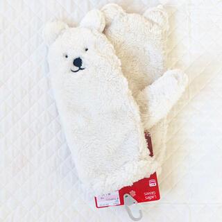 シマムラ(しまむら)の【しまむら】手袋(白くま)(手袋)