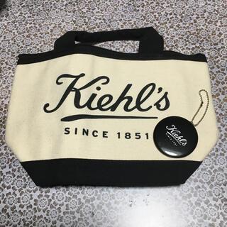 キールズ(Kiehl's)のキールズ保冷トートバッグ&ミニミラー雑誌付録(トートバッグ)
