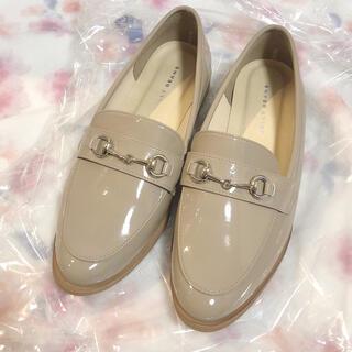 ジェリービーンズ(JELLY BEANS)の𓊆 未使用ジェリービーンズ ビットローファー ベージュ𓊇 (ローファー/革靴)