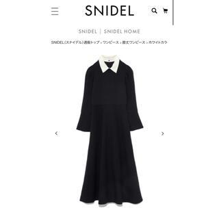 スナイデル(snidel)のsnidel(ひざ丈ワンピース)