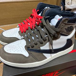 Nike Air jordan1 Travis Scott (スニーカー)