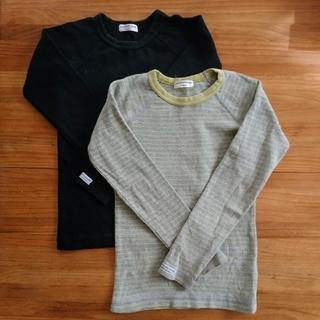 アンパサンド(ampersand)のアンパサンド 長袖T 130   2枚セット(Tシャツ/カットソー)