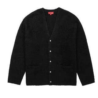 Supreme - Supreme Brushed Mohair Cardigan Black L