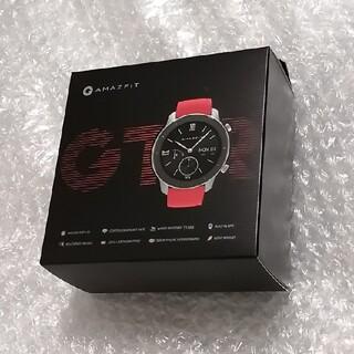 amazfit GTR 42mm Coral Red 新品未開封(腕時計(デジタル))