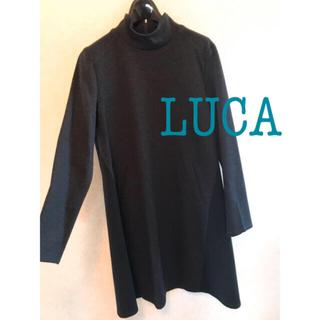 ルカ(LUCA)のLUCA 異素材ワンピース(ミニワンピース)