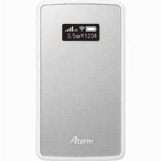 エヌイーシー(NEC)の【新品未開封】NEC Aterm モバイルルーター MP02LN SW(その他)