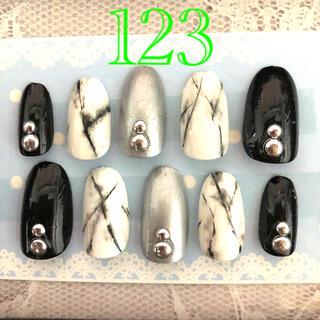 ネイルチップ つけ爪 123