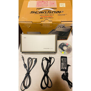 フジツウ(富士通)のFUJITSU ScanSnap S1500 Acrobat X 標準添付(PC周辺機器)