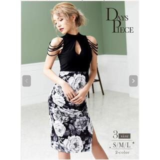 リュリュ(RyuRyu)のキャバドレス 膝丈ミニドレス Mサイズ 未使用(ミニドレス)