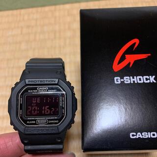 カシオ(CASIO)のGショック DW5600MS  レッドアイ(腕時計(アナログ))