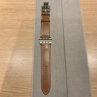 Hermes - (正規品) Apple Watch 44mm エルメス レザー バンド