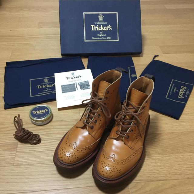 Trickers(トリッカーズ)の最終値引き Tricker's country boots M2508 メンズの靴/シューズ(ブーツ)の商品写真
