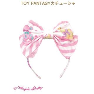 アンジェリックプリティー(Angelic Pretty)のtoy fantasy カチューシャ シロ(カチューシャ)
