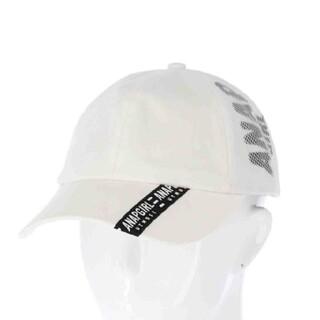 アナップキッズ(ANAP Kids)のAnapgirl新品メッシュ切替キャップホワイト(帽子)