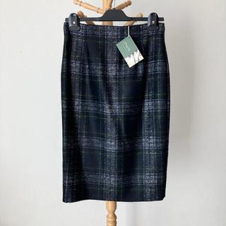 オニール(O'NEILL)の【新品】O'NEIL of DUBLIN 起毛ウールタイトスカート サイズ12(ひざ丈スカート)