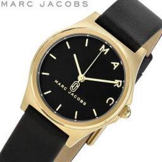 マークバイマークジェイコブス(MARC BY MARC JACOBS)のMARC JACOBS 腕時計 ブラック 動作確認済(腕時計)