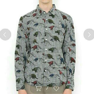 グラニフ(Design Tshirts Store graniph)のgraniph 恐竜柄 長袖シャツ(シャツ)