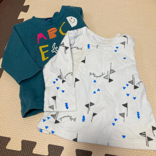 フタフタ(futafuta)の男の子 サイズ70 長袖 トップス 2枚セット(シャツ/カットソー)
