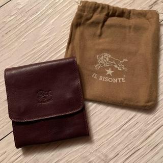 イルビゾンテ(IL BISONTE)の新品未使用!イルビゾンテ 二つ折り財布  ブラウン(折り財布)