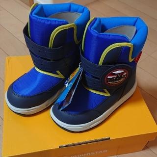 ムーンスター(MOONSTAR )の新品 ムーンスター 防水 ブーツ スノーブーツ 19cm(ブーツ)