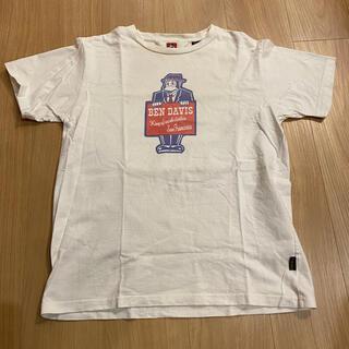 ベンデイビス(BEN DAVIS)のBEN DAVIS Tシャツ ホワイト Mサイズ(Tシャツ/カットソー(半袖/袖なし))