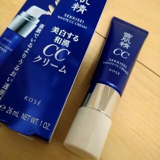 セッキセイ(雪肌精)の雪肌精ホワイトccクリーム 01(CCクリーム)