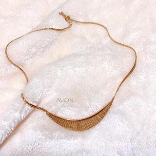 エイボン(AVON)の【AVON】弓形 ネックレス 美品 アメリカ製 ヴィンテージ (ネックレス)