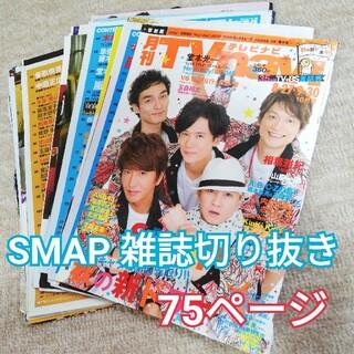スマップ(SMAP)のSMAP スマップ テレビナビ 雑誌切り抜き 75ページ(アート/エンタメ/ホビー)