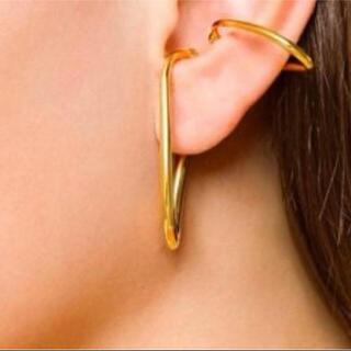 ドゥーズィエムクラス(DEUXIEME CLASSE)のchan 様専用 ミラージュイヤーカフ ゴールドカラー片耳(イヤーカフ)