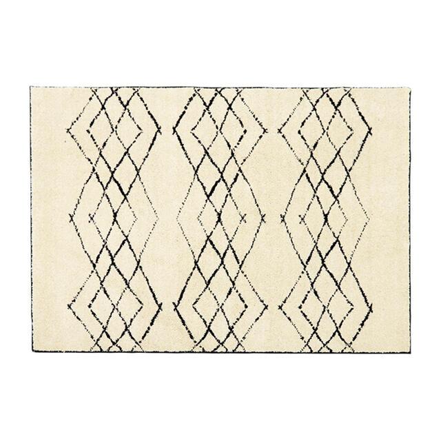 unico(ウニコ)のHIMAYA(ハイマヤ) パイルラグ 100×140cm インテリア/住まい/日用品のラグ/カーペット/マット(ラグ)の商品写真