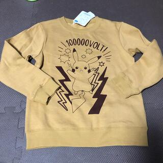 ポケモン(ポケモン)のポケモン ピカチュウ 裏起毛 トレーナー 130(ジャケット/上着)