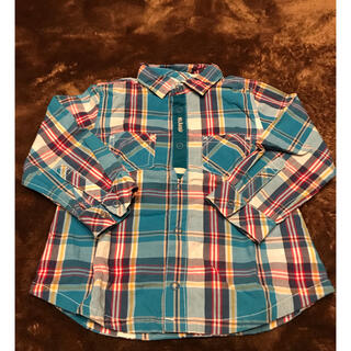 クレードスコープ(kladskap)のクレードスコープ チェックシャツ 90(ブラウス)