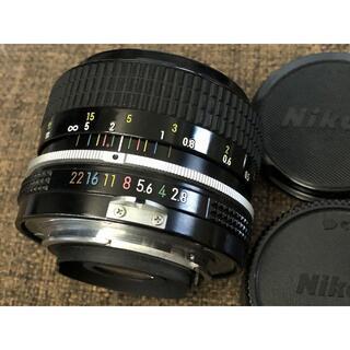 Nikon - Nikon NEW Nikkor 35mm F2.8 ニコン 単焦点レンズ